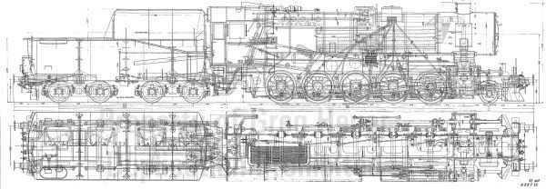 BR52 Line Drawing from Greg Heuer