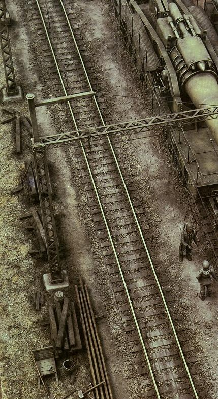 One35th Presents The 28cm K5 E Eisenbahngeschutz Rail