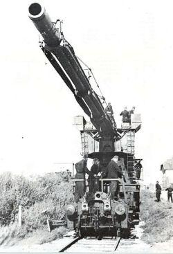 历史上最大的炮——巴黎大炮